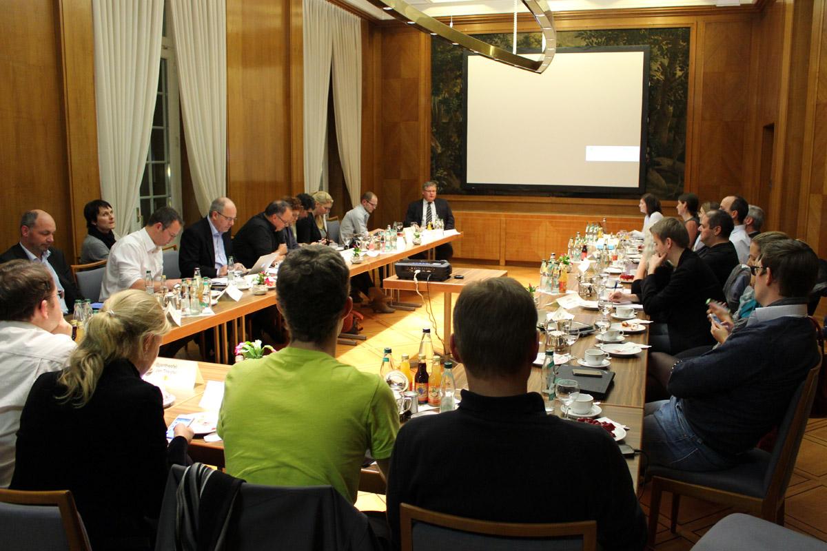 Diskussionsrunde: Blogger im Dialog mit dem Staatsministerium