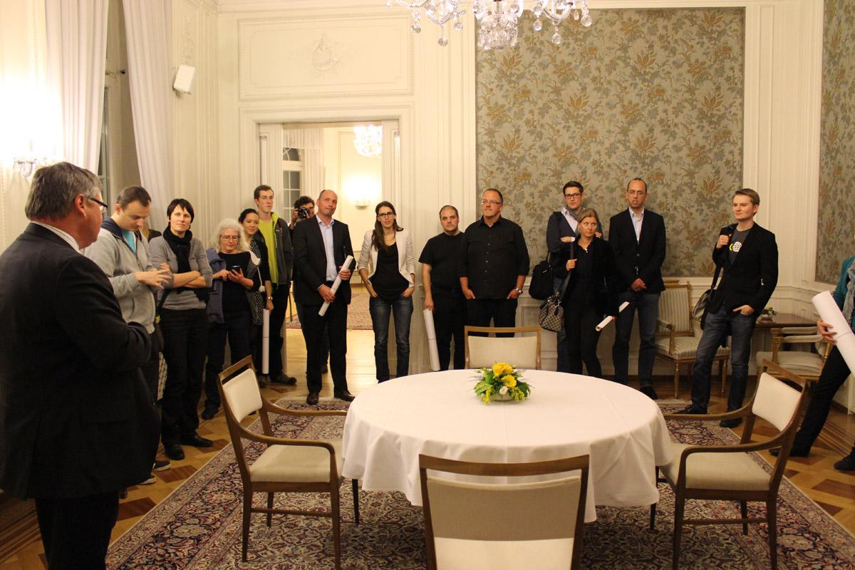 Führung durch die Villa Reitzenstein