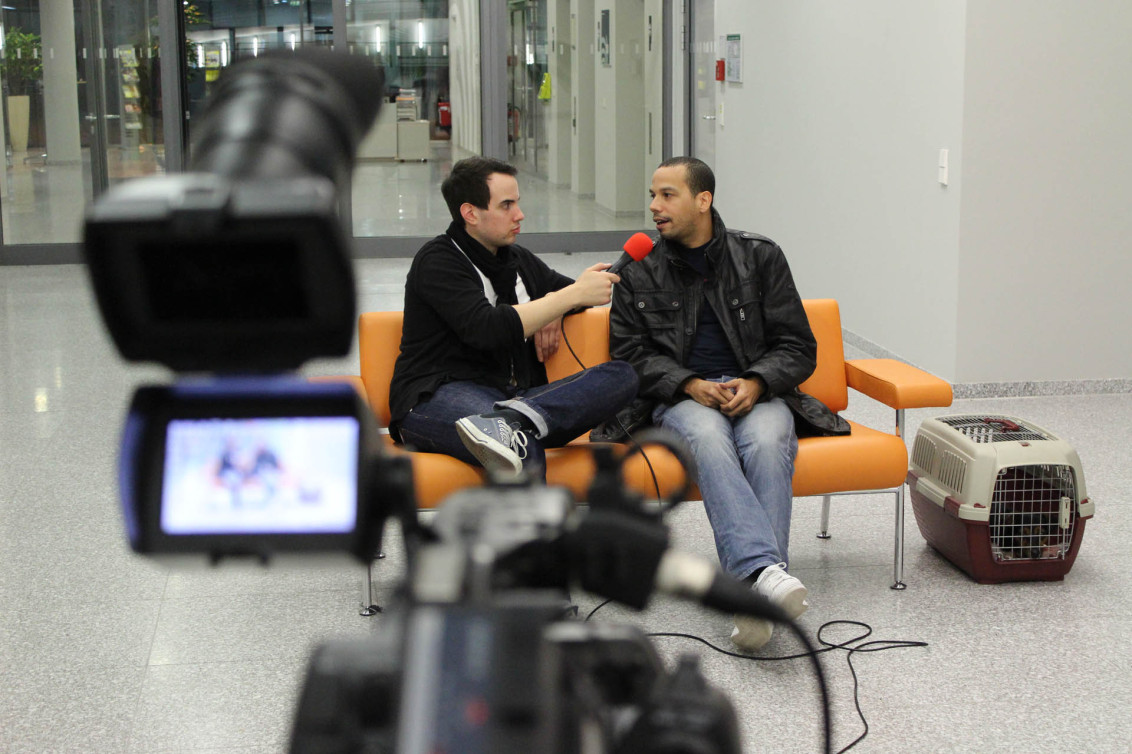 Max Zoller (HdM Student) interviewt Patrick Lindsey