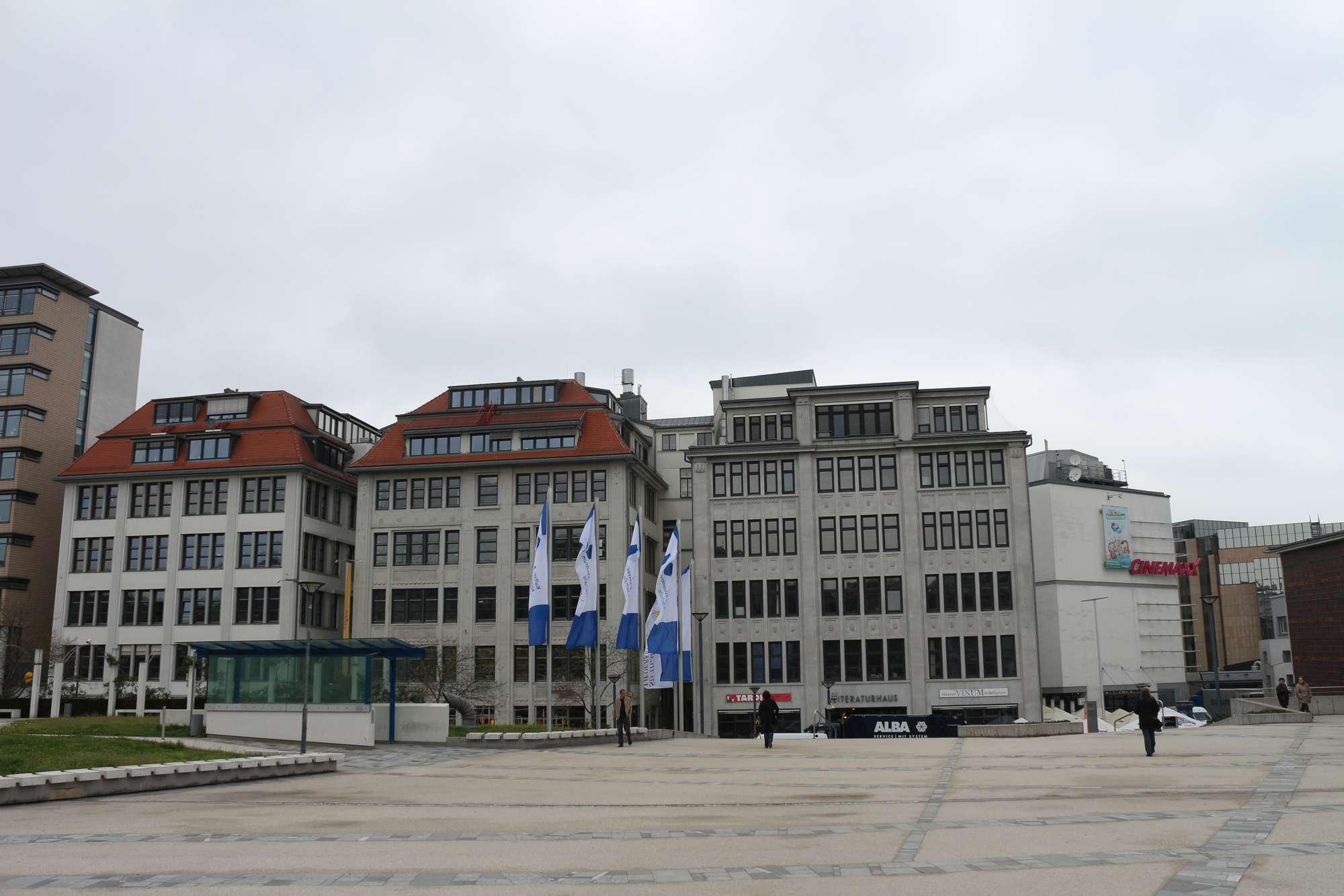 Das Literaturhaus in Stuttgart