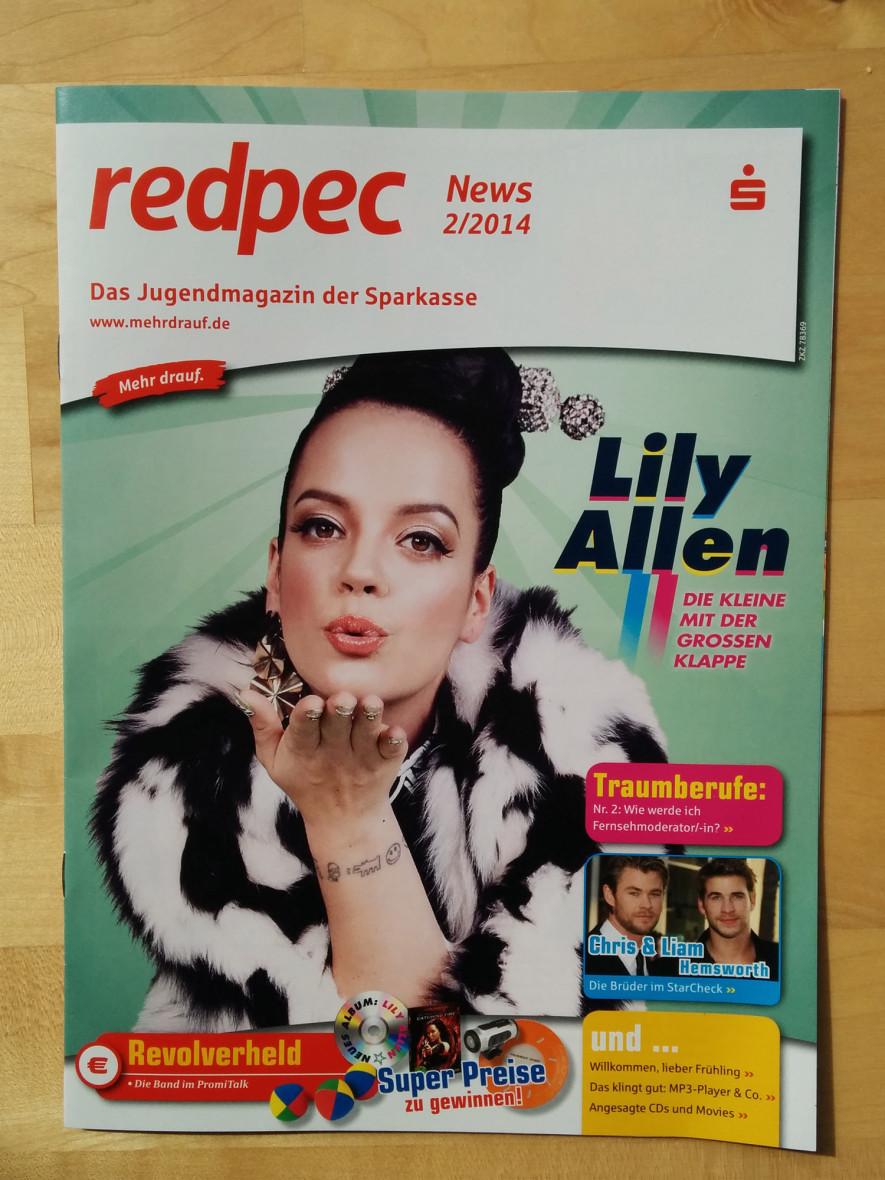 redpec Jugendmagazin der Sparkasse