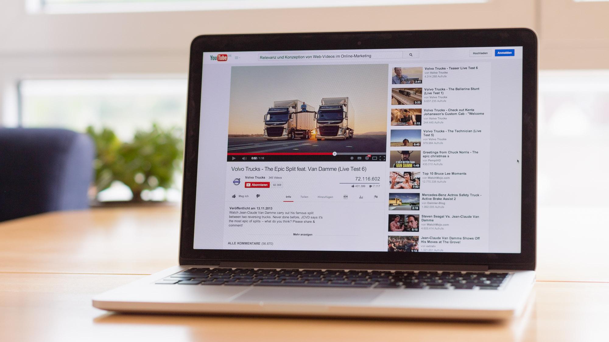 Relevanz und Konzeption von Web-Videos im Online-Marketing – Tilo Hensel