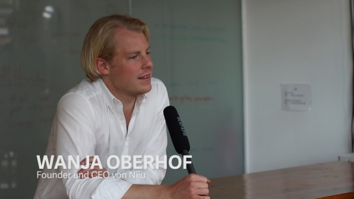 Wanja Oberhof, Gründer und CEO von Niiu