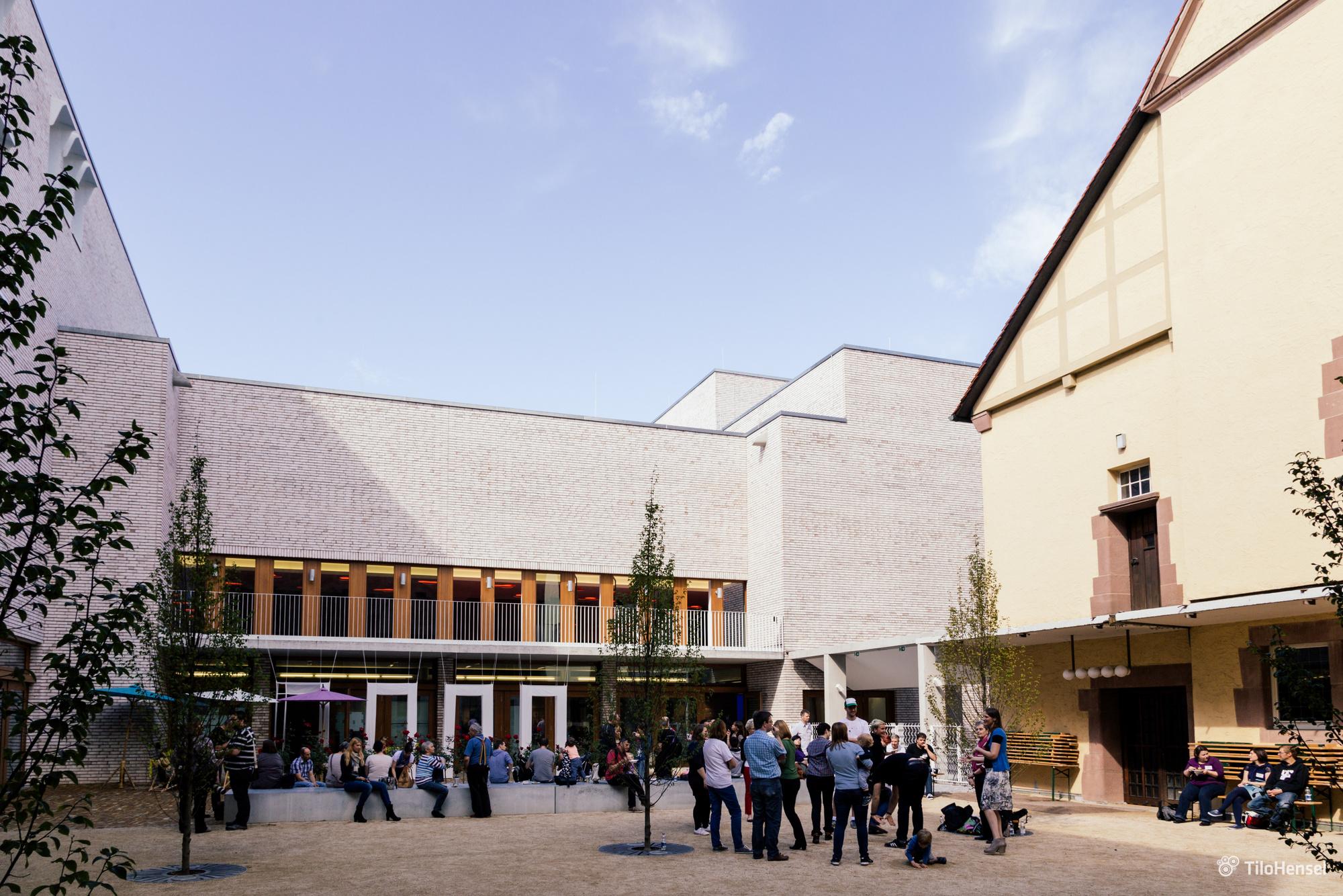 Hospitalhof - Innenhof Foto: Tilo Hensel